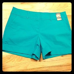 Green Jade colored shorts